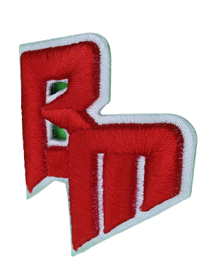 emblems with 3d embroidery puff embroidery emblems-embroided-patches custom-made embroidery foam 14